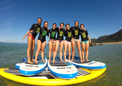 Actividades escolares paddle surf