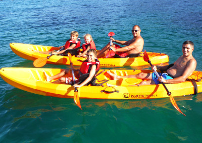 Kayak en Enjoy Sup School