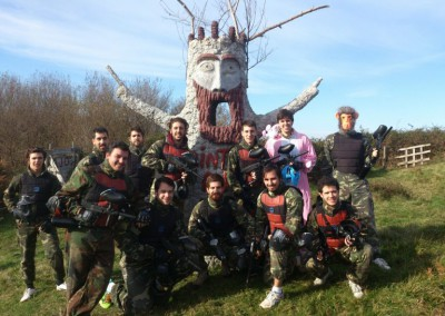 Despedidas de soltero enjoy paintball