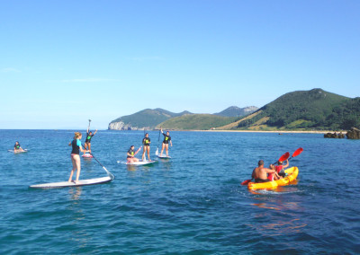 Travesías en sup y kayak