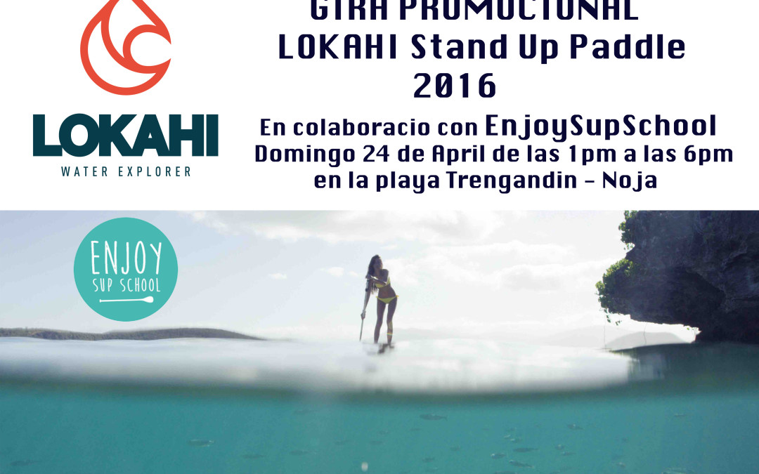 TEST LOKAHI 2016 EN ENJOY SUP SCHOOL
