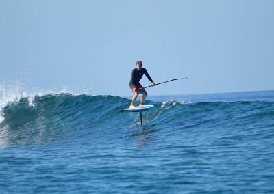 Paddle surf hydro foil