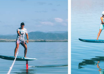 Paddle surf hydro foil en Cantabria y Euskadi